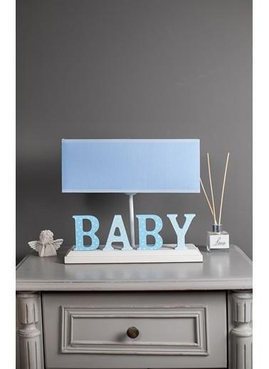 Misto Home Abajur Baby Mavi